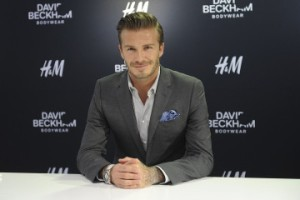 Image: David Beckham Meets Fans At H&M In Beijing