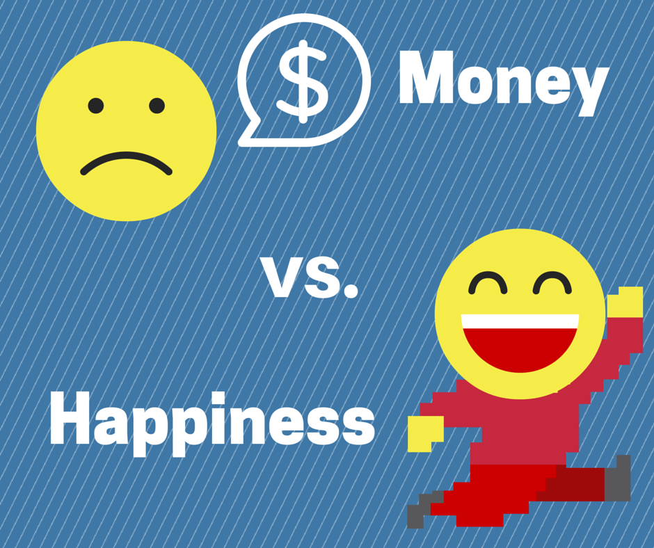 money vs happiness New research shows that people in better-paying jobs generally feel happier than people paid less but there are some surprising findings for example ceos earn 10 times more than hairdressers on average.