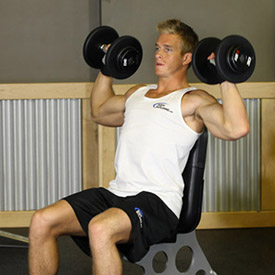 the 10 best weight lifting exercises shoulder press